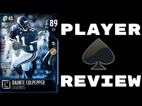 89 OVR Daunte Culpepper | Player Review | Madden 18 Ultimate Team Gameplay