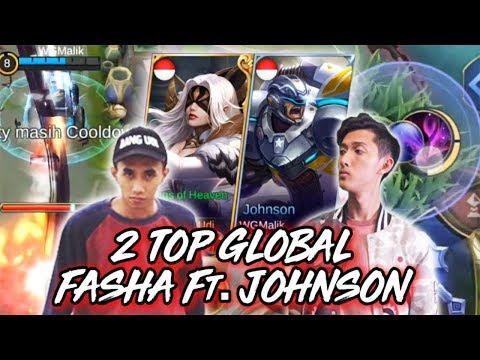 TOP GLOBAL JOHNSON DAN FASHA BERSATU!!! ft. Watchout Gaming