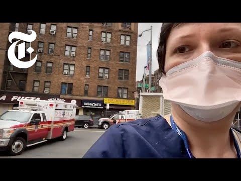 'People Are Dying': Battling Coronavirus Inside A N.Y.C. Hospital | NYT News