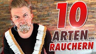 10 ARTEN von RAUCHERN !