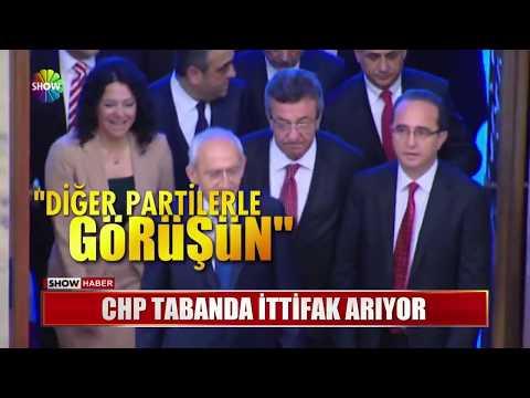 CHP Tabanda Ittifak Arıyor