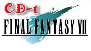Final Fantasy VII Pc -Costumes CD-1- HD- Part-5 First Boss!