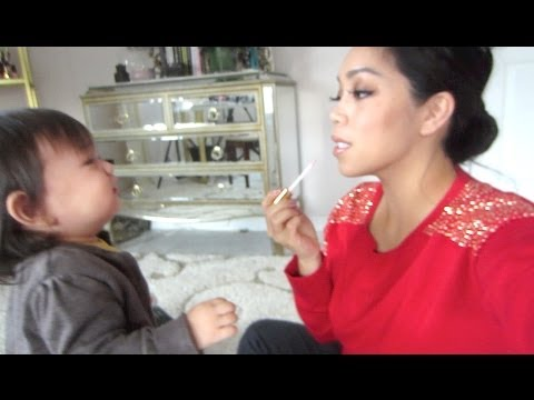 Baby Makeup Lessons! - Dancember 11, 2013 - itsJudysLife