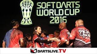 【Hong Kong VS USA】 SOFT DARTS WORLD CUP 2016 -FINAL MATCH-