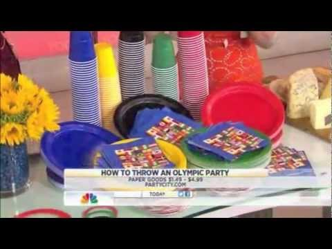 Today Show Olympic Party Tips