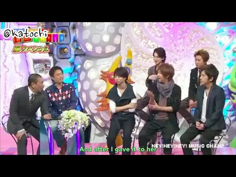 [ENG SUB] HEY X3 Amemiya's Arashi Song