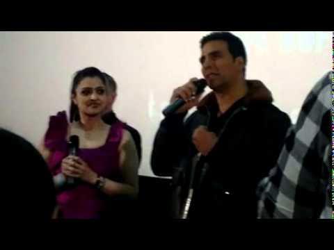 Thank you screening akshay kumar Q&A part 1 Cineworld Feltham