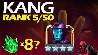 KANG rank 5 go go go  | Marvel Contest of Champions