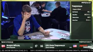 2015 Magic World Championship Round 11 (Standard) Martin Muller vs. Owen Turtenwald