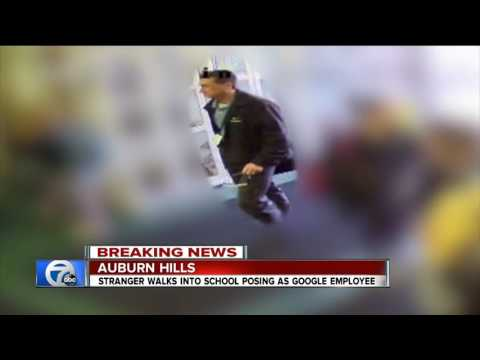 Stranger walks into Auburn Hills School