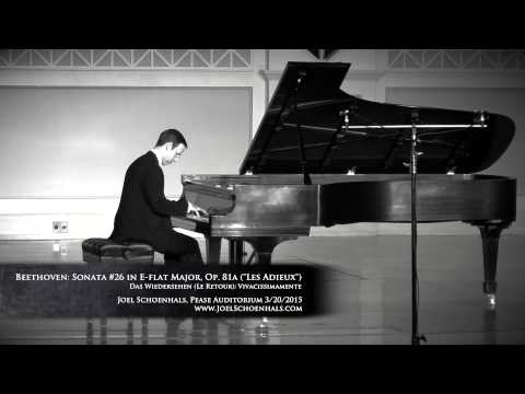 Beethoven: Sonata No. 26 in E-flat Major, Op. 81a