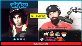 LeafyisHere INTERVIEW!            #DramaAlert