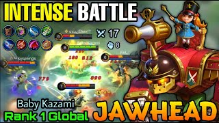 Intense Game!! Jawhead Nutcracker MVP Plays - Top 1 Global Jawhead by Baby Kazami - MLBB