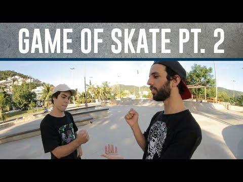 Game of SKATE  Ivan, Gian e Breno Parte 2