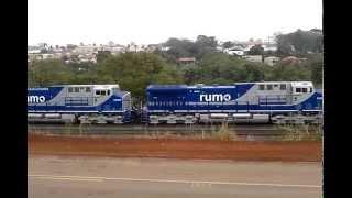 Novas locomotivas  GE AC 44i RUMO