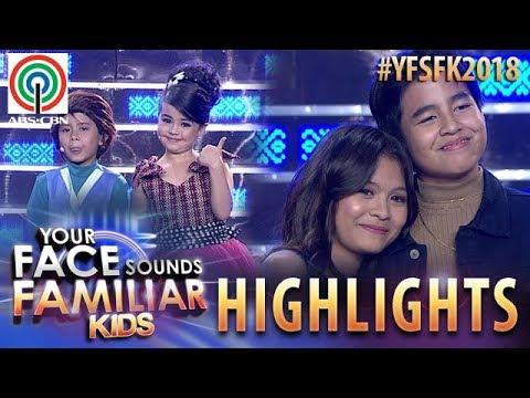 YFSF Kids 2018 Highlights: Onyok At Xia, Sumabak Sa Loveteam Pose Kasama Sina Lyca At Sam