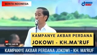 JOKOWI - KH.MA'RUF AMIN KAMPANYE AKBAR PERDANA DI BANTEN