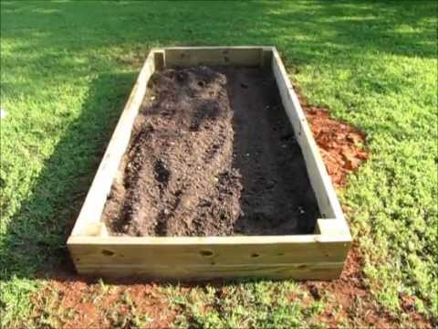 garden bed a layout build ideas vegetable frame raised