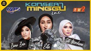 Siti Nordiana SEPI SEKUMTUM MAWAR MERAH, Ella KEKAL & Ziana Zain PALING COMEL