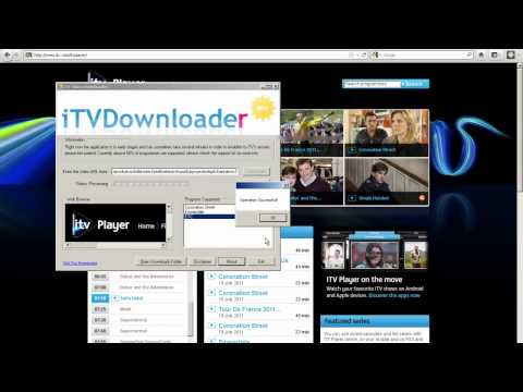 How to download from iTV Player with iTVDownloader