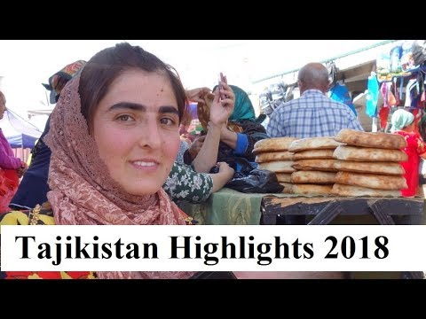 Central Asia (Tajikistan Highlights-2018)  Part 34