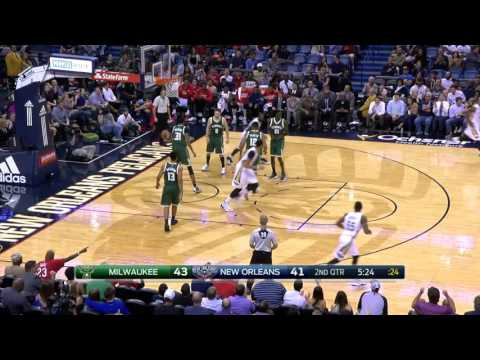 Milwaukee Bucks vs New Orleans Pelicans   Highlights  November 1, 2016  2016 17 NBA Season