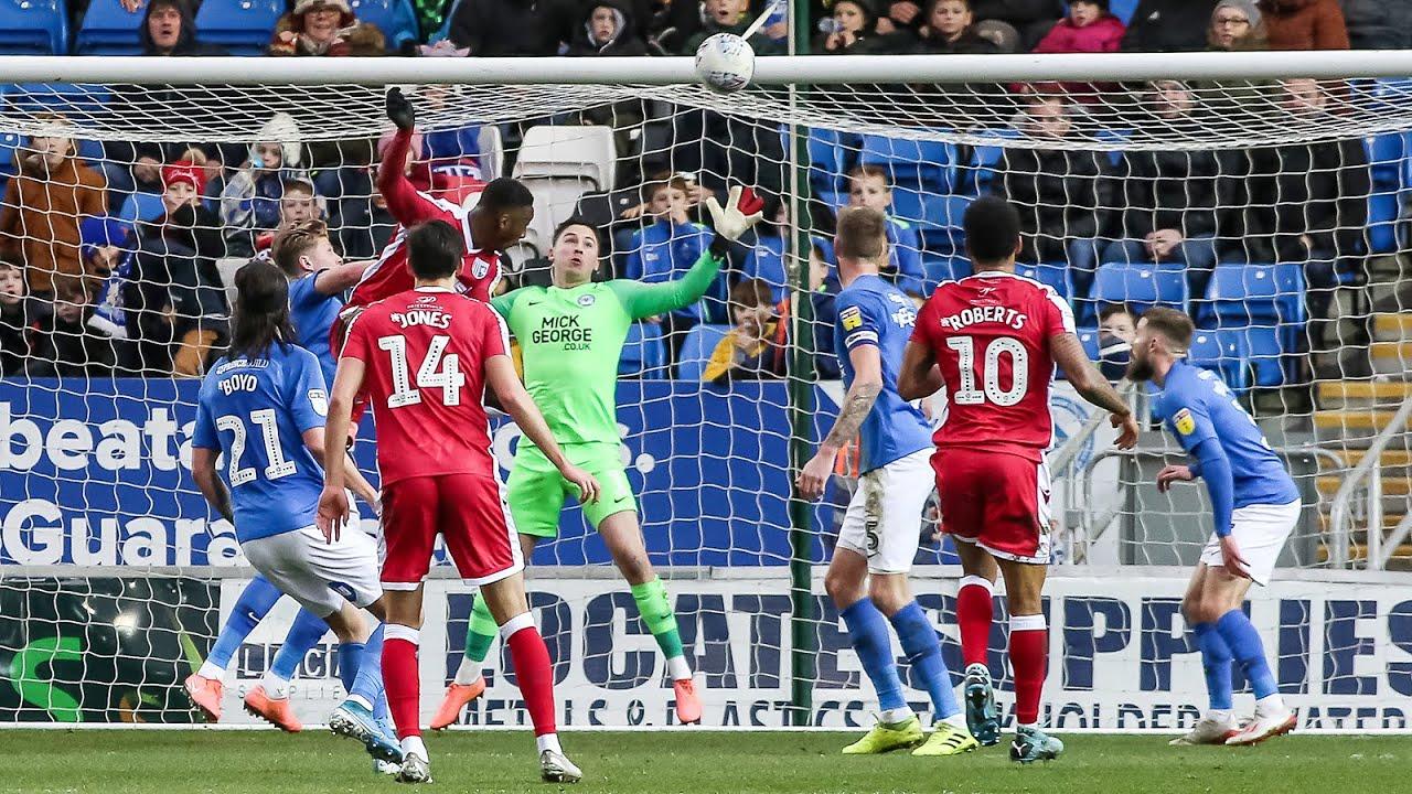 Питерборо Юнайтед  0-0  Гиллингем видео