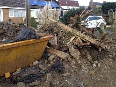 Ilminster, Somerset, England. Builders Construction Waste, Soil, Rubble, Rubbish, Junk, Clearance.