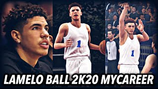 LaMelo Ball MyCareer EP 1 | The NBA Draft & NBA Draft Lottery | NBA 2K20