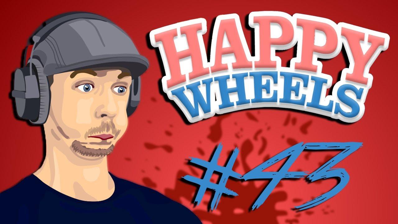 Happy Wheels Part 43 All Boss Youtube