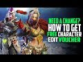Need A Change? How To Get Your Free Character Edit Voucher! Monster Hunter World