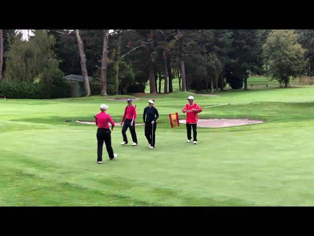 Rachael Goodall CAMPEONA del Santander Golf Tour La Coruña