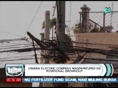 [Balitaan] Visayan electric company magpapatupad ng rotational brownout [05|20|14]