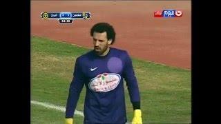 مباراة المقاولون VS المريخ ... اخطر فرصة لنادى المريخ وخروج خطأ من الحارس محمود ابو السعود
