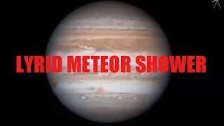METEOR SHOWER APRIL 2017