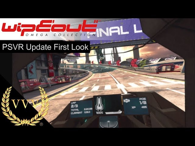 WipEout Omega Collection   PSVR Update First Look