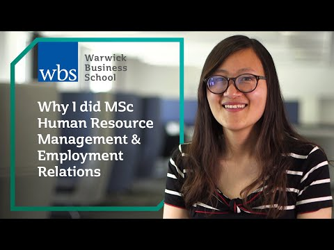 Why Did Msc Human Resource Management Employment Relations