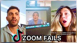 BEST ZOOM FAILS TIK TOKS (VERY AWKWARD)