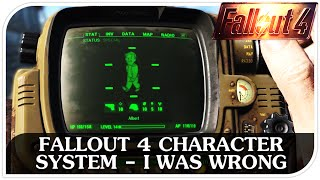 FALLOUT 4 Character System - I Was Wrong