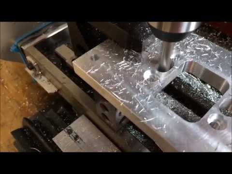 Harbor Freight Mini-Mill CNC Conversion - Machining A Part