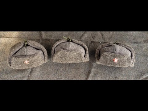 3d91b4238b3 Homemade Soviet WW2 Ushanka M1940 RKKA caps - РККА Ушанка - YouTube