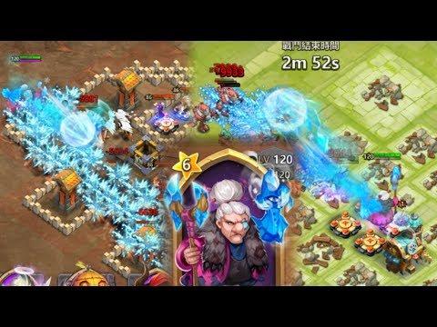 Gameplay DINGUE Sorcière De Glace - Castle Clash