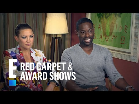 Kate Hudson Gushes Over Costar Sterling K. Brown | E! Live from the Red Carpet streaming vf