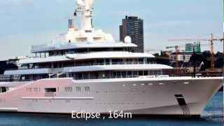 Top 10 World's Largest Yachts [HD]