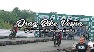 Drag Bike Vespa Standar HBPutra Banjarmasin Kalimantan Selatan VesVlog 3