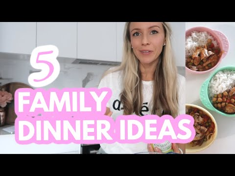 5 healthy family meals (A WEEK OF DINNER IDEAS!) Krissy Ropiha