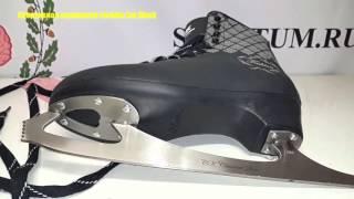 Обзор фигурных коньков Спортивная коллекция Fashion Lux Black / Review ice skates