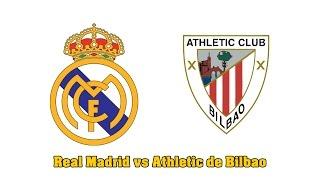 a que hora juega real madrid vs athletic de bilbao   liga bbva   final 5 0