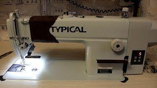 видео Швейная машина Aurora 615