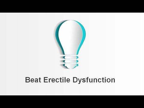 Beating Erectile Dysfunction